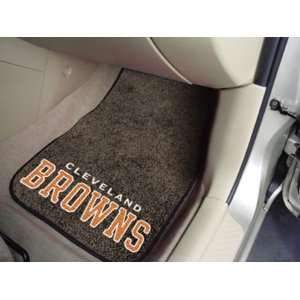 Cleveland Browns New Car Auto Floor Mats Front Seat