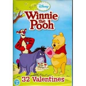 Disney Winnie the Pooh Valentine Cards for Kids Health