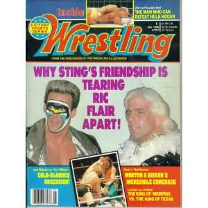 Inside Wrestling Magazine : Why Stings Friendship is
