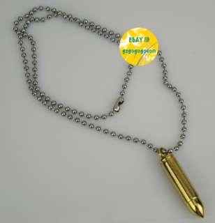 Mens cross bullet stainless steel container Pendant 36