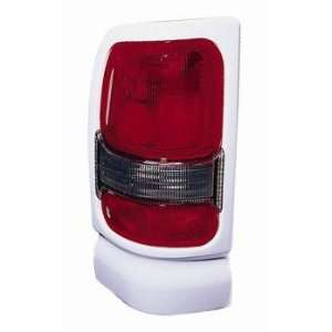 DODGE RAM pickup 94 00 TailLight UNIT Passenger Side W/SPORT PKG WHITE