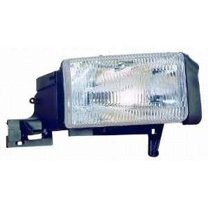 94 02 Dodge Ram P/u Headlight Assembly ~ Right (Passenger Side