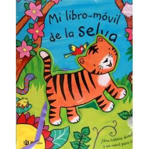 libro movil de la selva.Una historia divertida y un movil para colgar