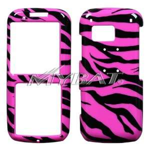 SAMSUNG RANT M540 BLACK AND HOT PINK ZEBRA COVER