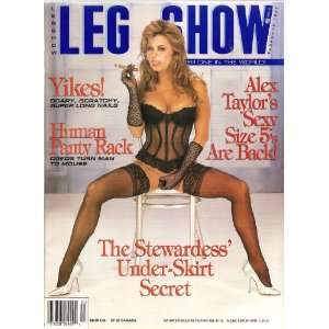 LEG SHOW MAGAZINE FEBRUARY 1997 ALEX TAYLOR: LEG SHOW: Books