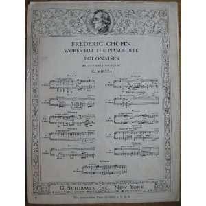 Polonaise A Major Op. 40 No. 1 Allegro Con Brio (Frederic Chopin Works