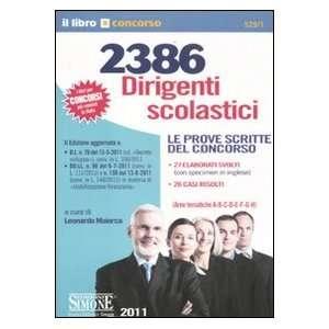 . Le prove scritte del concorso (9788824430487) L. Maiorca Books