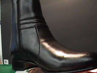 MENS fashion HALF BOOT side zipper BOTIN SIZE 9 1/2
