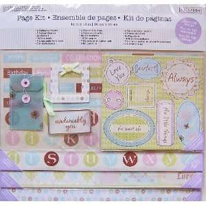 Family, Love & Celebration Page Kit 12x12 Arts, Crafts & Sewing