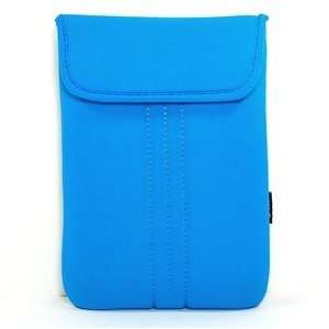 Light Blue Neoprene/Cotton 10.2 10 inch Laptop ntebook computer case