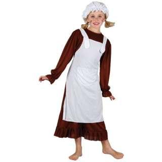 Victorian Poor Girl Kids Fancy Dress Book Week Costume 3 10