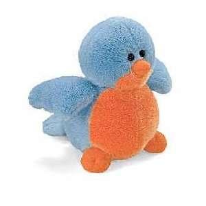 Gund Plush Chatter Box Birds Blue Bird 4.5 Toys & Games