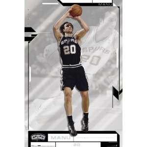 Manu Ginobili   San Antonio Spurs Poster