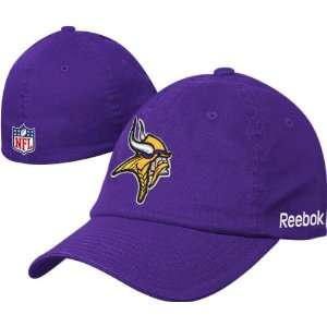 Minnesota Vikings Purple Flex Fit Sideline Slouch Hat