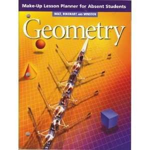 LESSON PLANNER FOR ABSENT STUDENTS Rinehart and Winston Holt Books