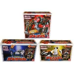 : Power Rangers Megazord Gekiranger Sentai DX Gekitouja: Toys & Games