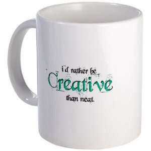 Rather Be Creative Hobbies Mug by CafePress:  Kitchen