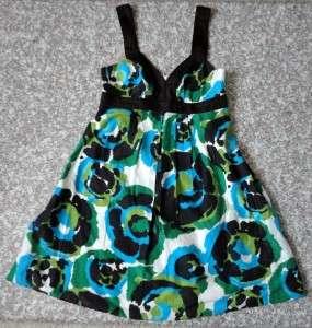 Banana Republic Empire Pleated Silk Cotton Dress size 2 P