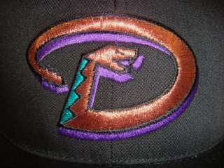Throwback MLB Arizona Diamondbacks 3D Embroidered Snapback Cap