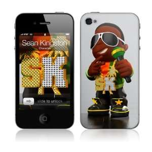 Skins MS SK40133 iPhone 4  Sean Kingston  Character Skin: Electronics