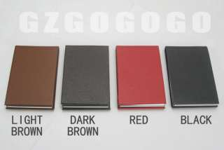 GZGOGOGO mens leather card holder Credit cases CHGZ2