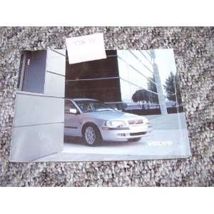2002 Volvo S40 Owners Manual: Volvo Motors:  Books