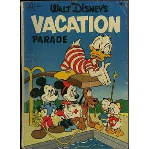 Vacation Parade (Dell Giant Comic #3): Scrooge McDuck: Books