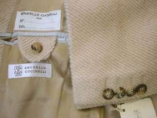 3760 NWT BRUNELLO CUCINELLI Alpaca/Wool Coat M 39 40