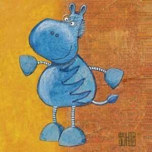 Zibro   Poster by Sushila Dahan (11.8x11.8): Home & Kitchen