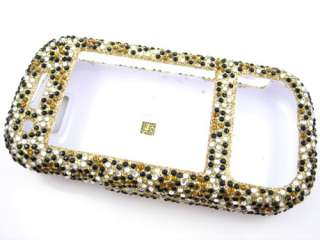 LEOPARD GOLD BLING DIAMOND CASE COVER SAMSUNG EXCLAIM