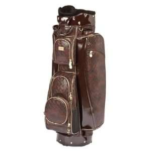 Sports Ladies Cart Golf Bags   Davina Chocolate