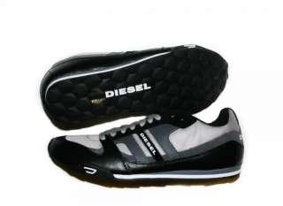 NIB DIESEL Brand Mens Gunner Black P Casual Lace Up Fashion Shoes
