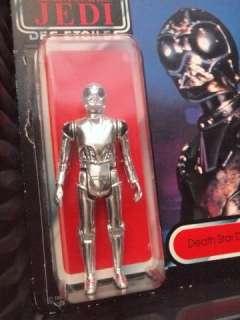 DEATH STAR DROID   TRI LOGO   Original Carded MOC Star Wars ROTJ