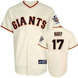 Aubrey Huff Jersey San Francisco Giants #17 Home Replica