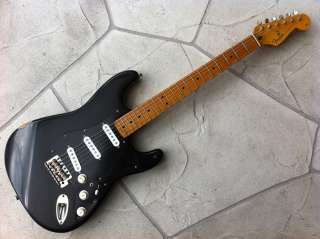 Fender Stratocaster Black Strat   David Gilmour Aged Relic STYLE