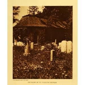 1923 Rotogravure Haunt Headless Horseman Dutch Church Tarrytown New