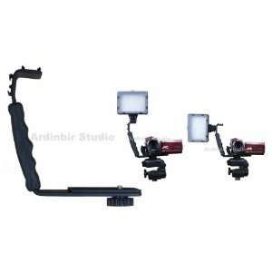 Ardinbir Led Light Bracket for Canon, Sony, Panasonic, JVC