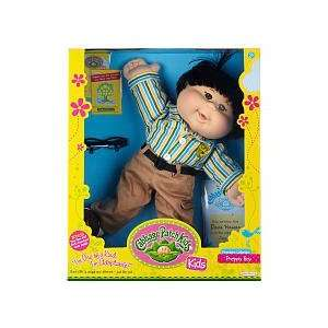 Cabbage Patch Kids Doll   Preppy Boy   Black Hair   Asian
