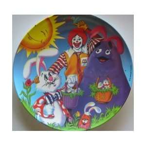 Ronald McDonalds Easter Series 1996 Plastic Plate