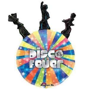 Rock & Roll Balloons   Disco Dancers Disco Ball Toys