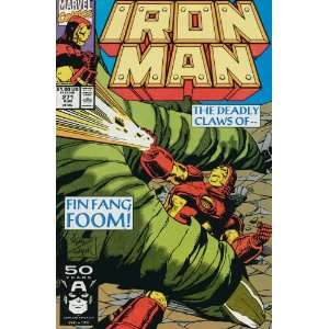 Iron Man (1st Series) #271: John Byrne, Paul Ryan: Books