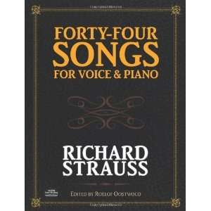 and Piano (Dover Song Collections) [Paperback] Richard Strauss Books