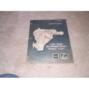 Twin Dual Cam Engine Service Manual Supplement general motors co
