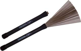 Regal Tip Metal Wire Drum Throw Brushes Sticks NEW