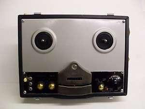 Peco Victoria FC 61D Portable Tube Reel to Reel Tape Recorder