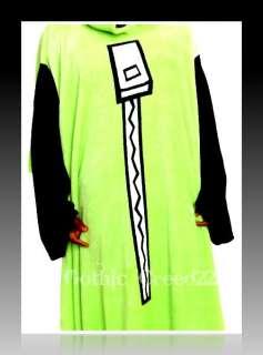 Zim/Gir DOG SUIT HUGE/COZY Snuggie/Hoodie Throw Costume New