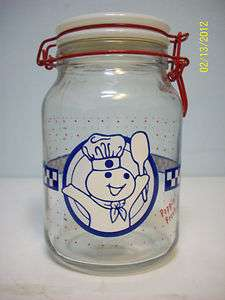 Pillsbury Dough Boy Large Jar