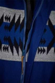 VTG   Pendleton   Virgin Wool Navajo Indian Blanket Design Jacket