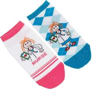Nurse/ Nurses Fashion Socks   Dotty Nurse   Yellow Duck   3 Styles