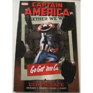 Captain America Red Menace TPB #1: ED BRUBAKER: Books
